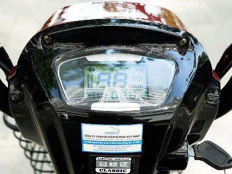 Xe điện 3 bánh clssic đồng hồ điều khiển - Phoxedien.com
