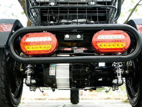 Động cơ cực mạnh xe điện 3 bánh classic - Phoxedien.com