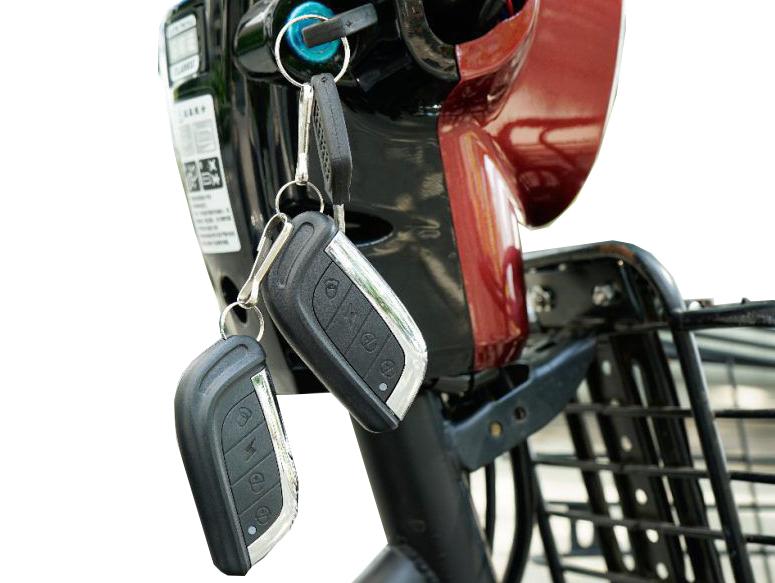 Hệ thống khóa thông minh mart key xe điện 3 bánh