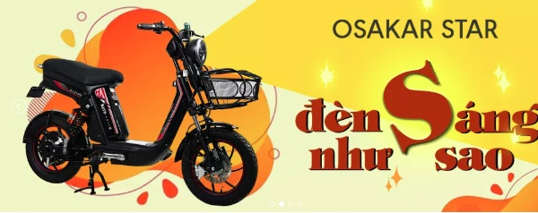 Xe đạp điện Osakar – thời thượng, hiện đại