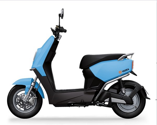 Xe máy điện với khung xe nhỏ gọn và đầy tiện dụng