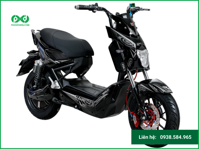 Osakar Xmen Pro – xe máy điện theo phong cách thể thao, mạnh mẽ