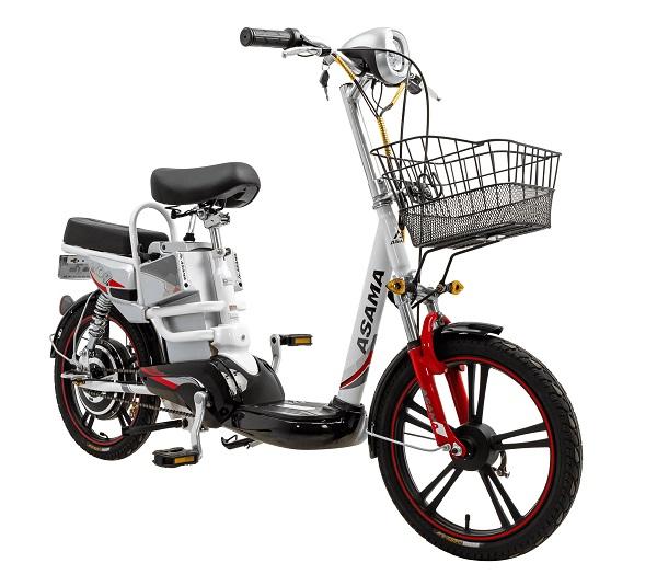 Xe đạp điện asama Joy-EBK-JY1801 thời thượng, cá tính.