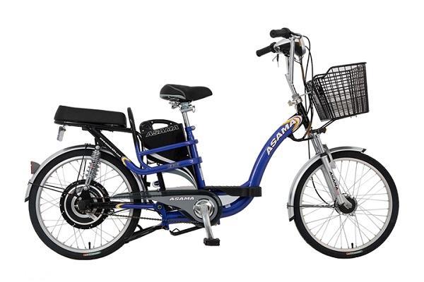 Xe đạp điện Asama EBK 002S chịu được tải trọng lên đến 120kg.