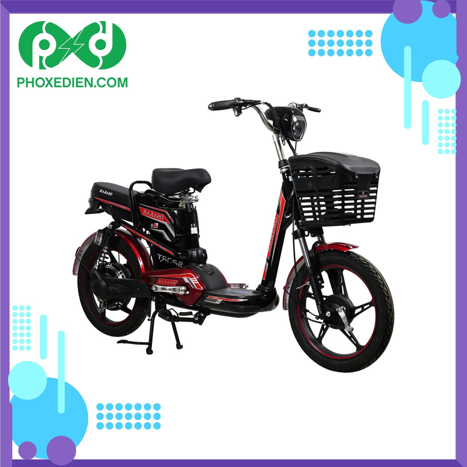 Xe đạp điện Osakar giá rẻ dưới 7 triệu bền đẹp