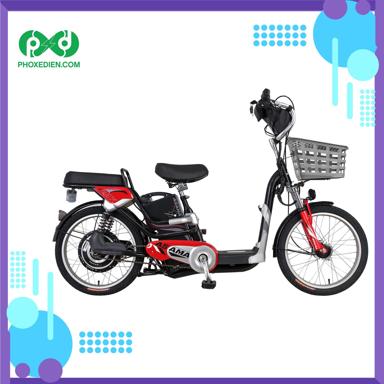 Xe đạp điện Asama - giá rẻ cho mọi nhà