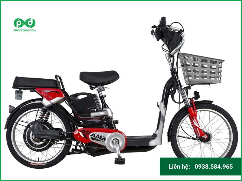Mua xe đạp điện Asama trả góp với lãi suất thấp hấp dẫn