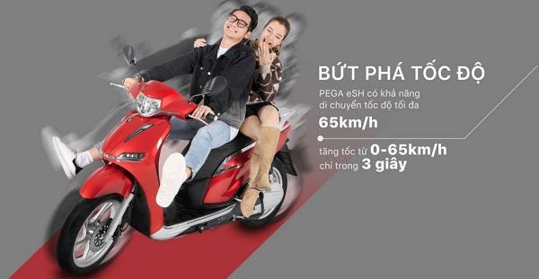 Pega - lựa chọn hoàn hảo cho xe máy điện bền đẹp