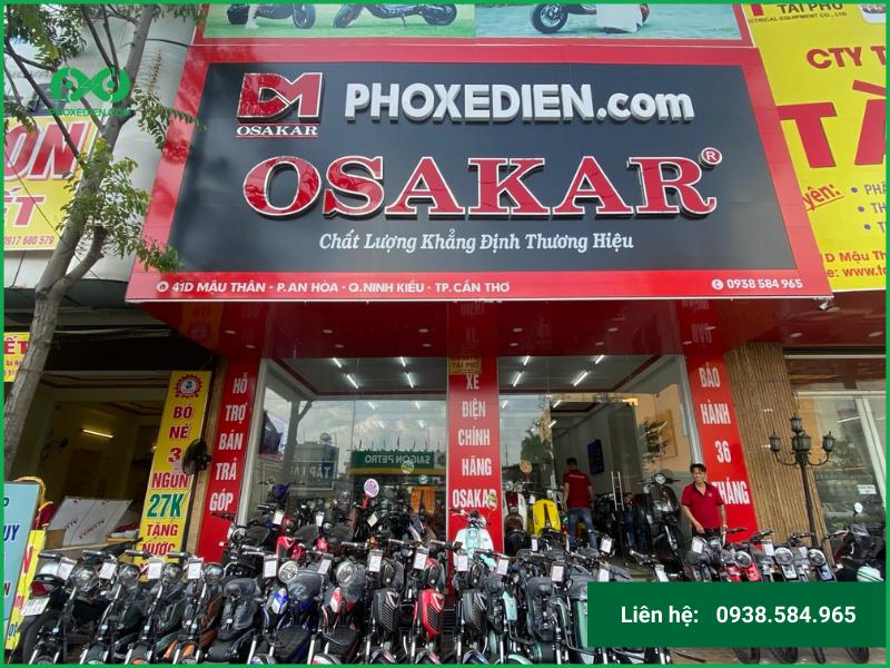 Xe đạp điện cửa hàng Phố Xe Điện
