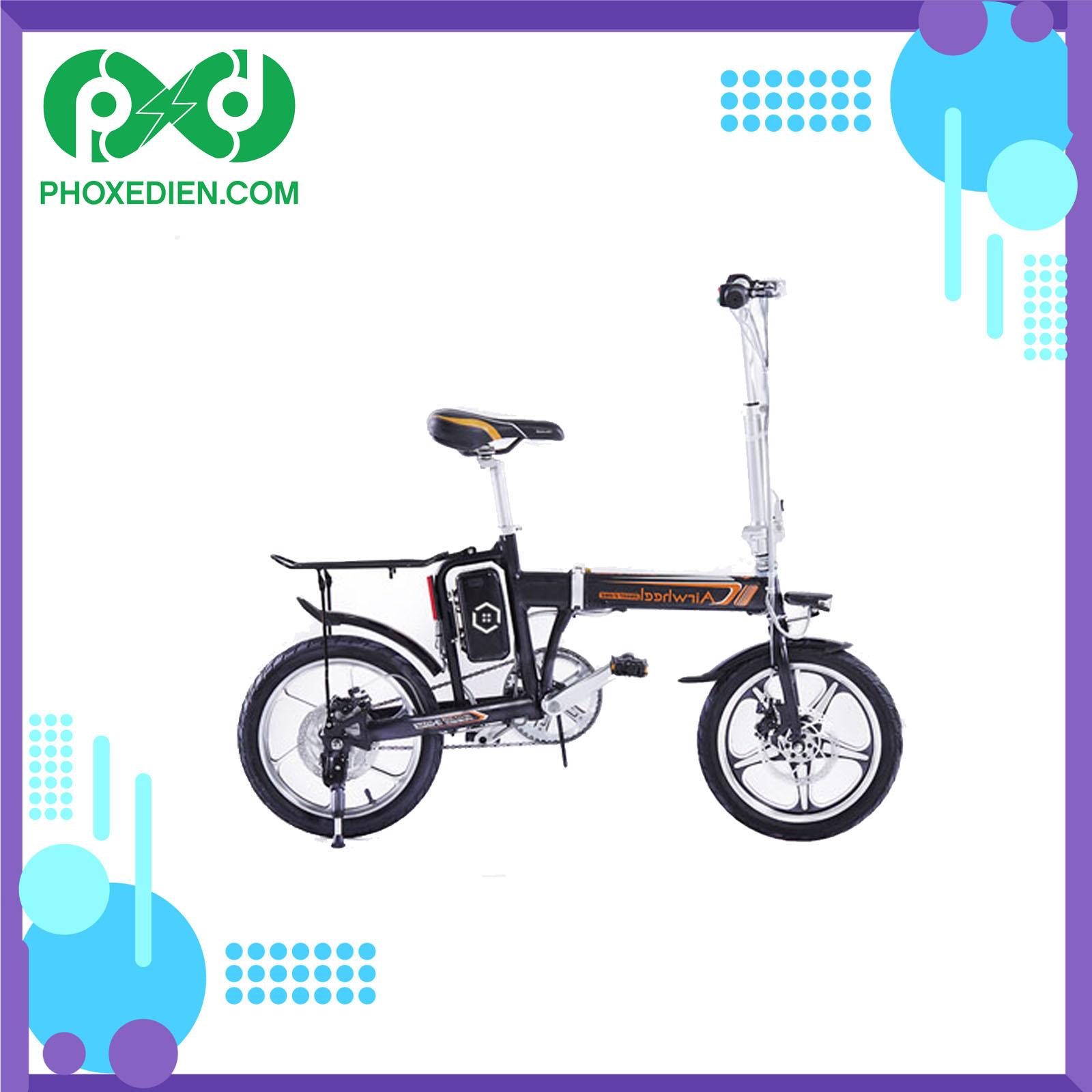Xe đạp điện gấp Homesheel AIRWHEEL R5 thiết kế nhỏ gọn, tiện lợi.