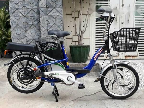 Xe đạp điện cũ Sonsu là một trong các mẫu xe được ưa thích nhất