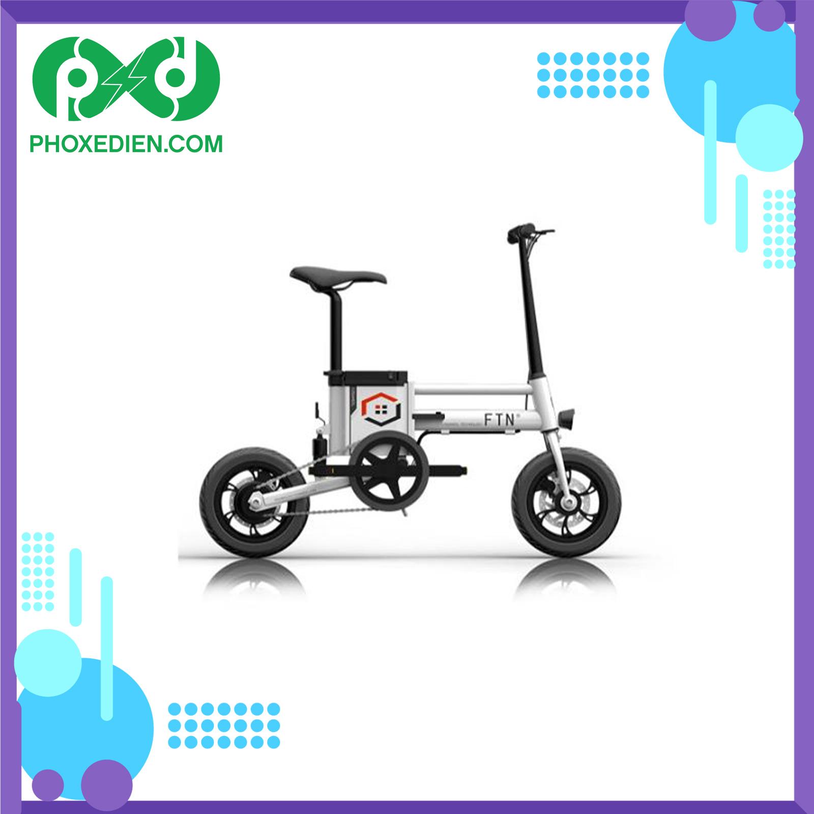 Xe điện gấp vừa nhỏ nhắn nhưng vẫn đảm bảo được động cơ và năng suất hoạt động