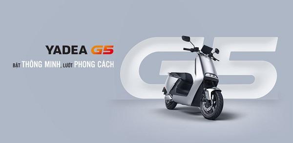 Yadea G5 - thương hiệu xe máy điện tốt nhất hiện nay