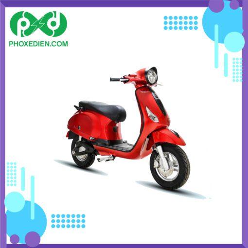 xe máy điện osakar classy đỏ đen bóng