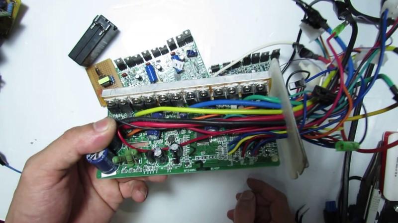 Board mạch xe điện