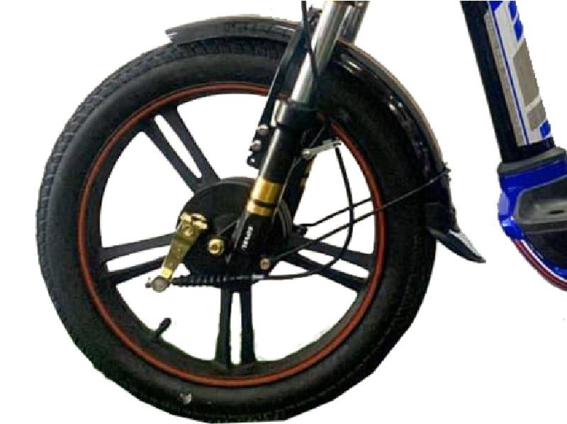 Bánh trước vành đúc hợp kim xe đạp điện Sonsu