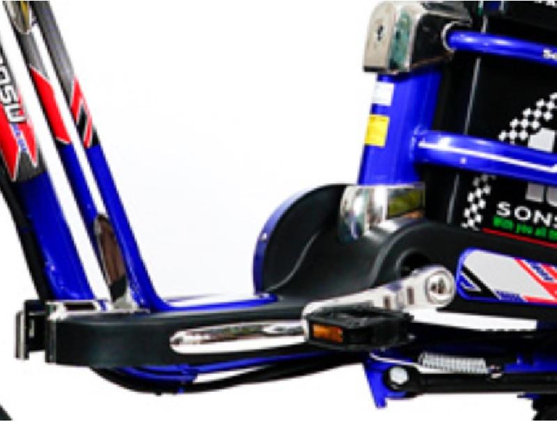 Đế chân, bàn đạp xe tiện nghi xe đạp điện Sonsu