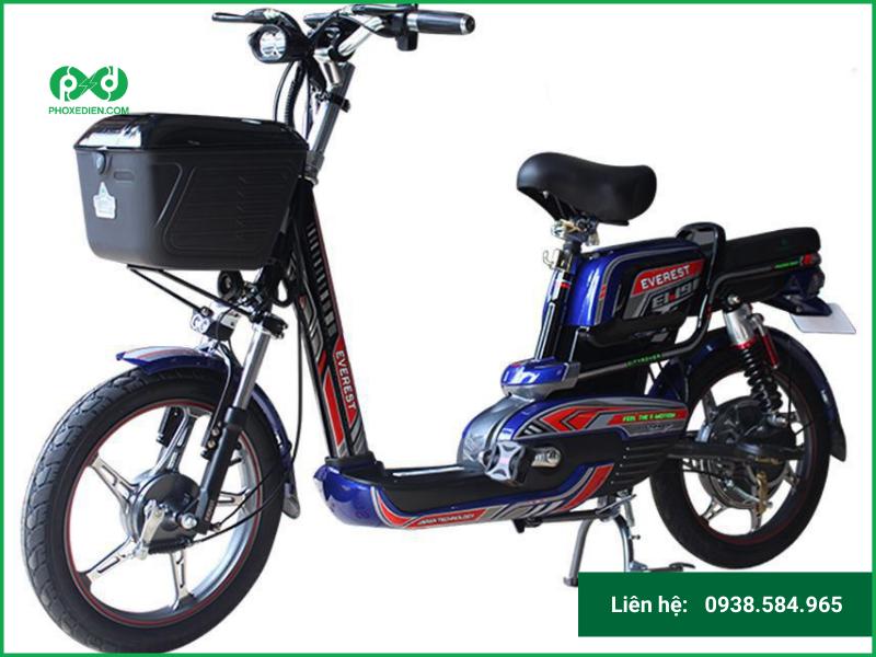 Xe đạp điện Everest EM9 hiện đại, thời thượng