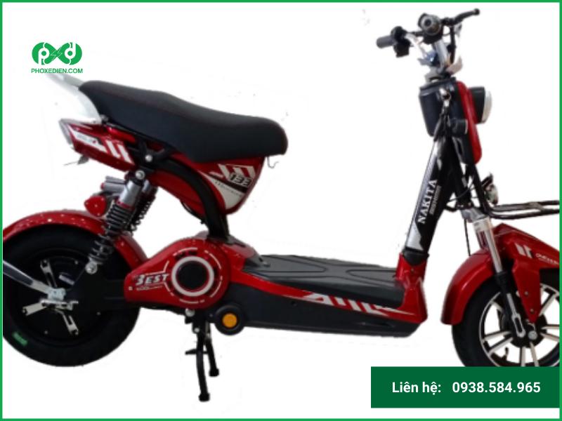 Xe đạp điện Nakita – sự lựa chọn tiết kiệm và thông minh.