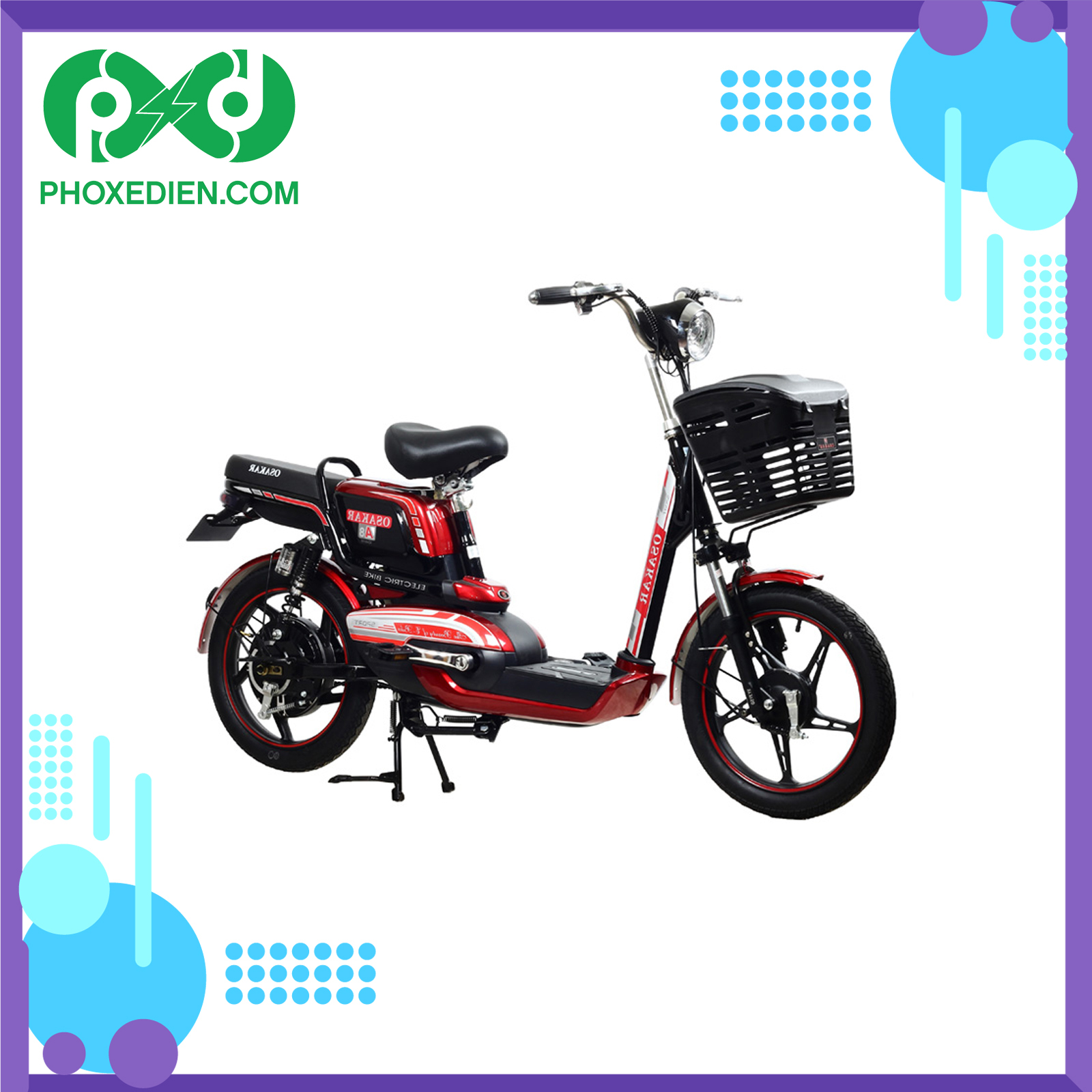 Phiên bản tiên phong: xe đạp điện Osakar A8
