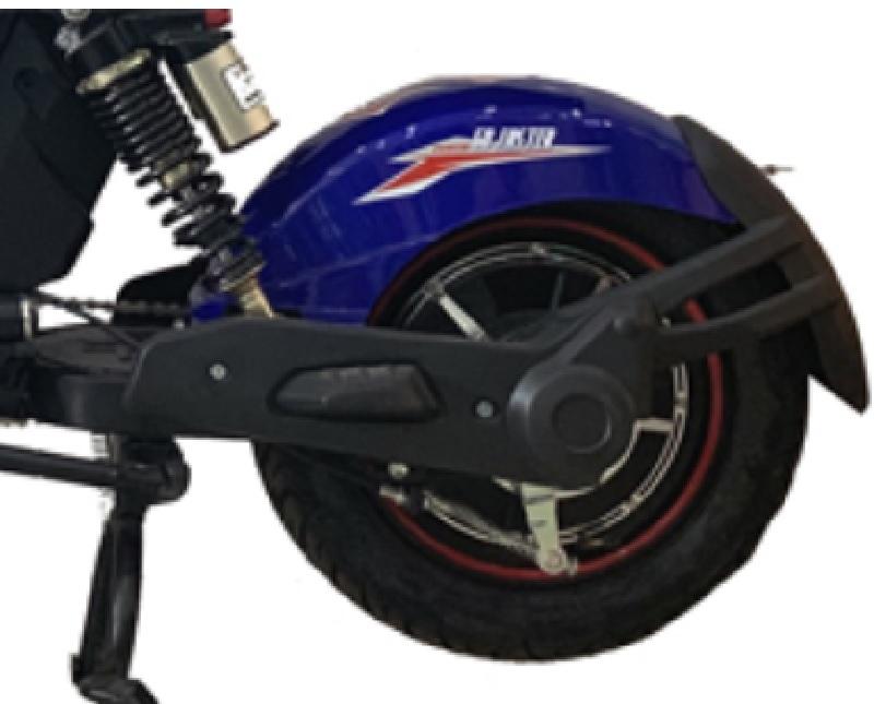 Động cơ công suất 250W ở tâm sau bánh xe