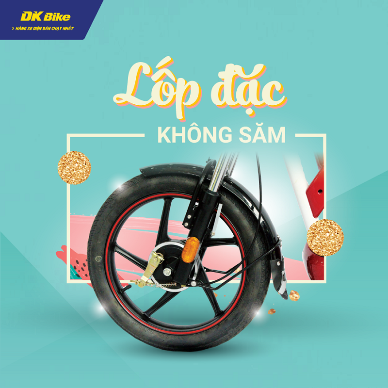 Thiết kế nổi bật dòng xe đạp điện DK Zipp