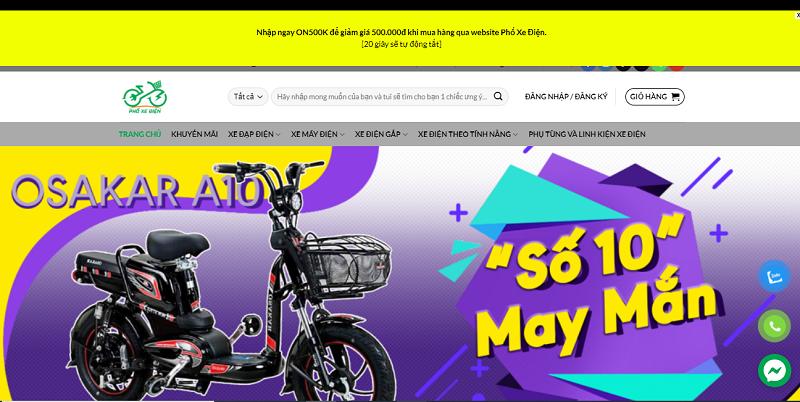 Tìm mua xe đạp điện DK Zipp rẻ nhất, chất lượng nhất tại Phố Xe Điện