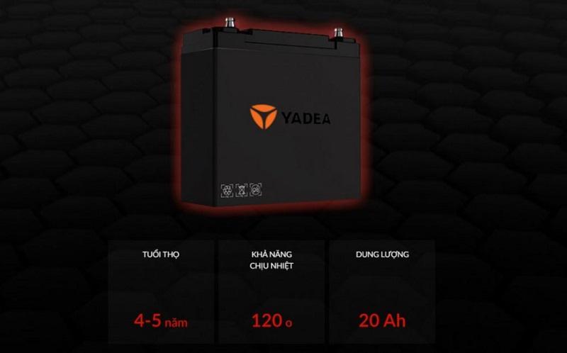 Thông số kỹ thuật của xe máy điện Yadea XMEN NEO