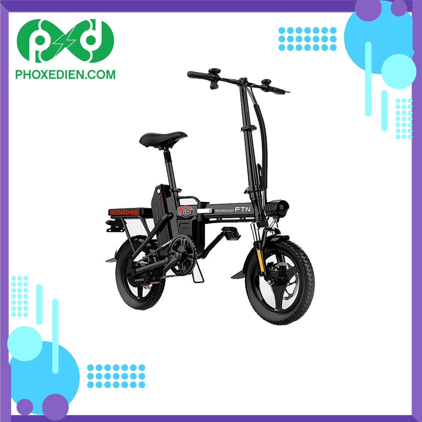 Xe đạp điện gấp Homsheel FTN T5 – 10Ah
