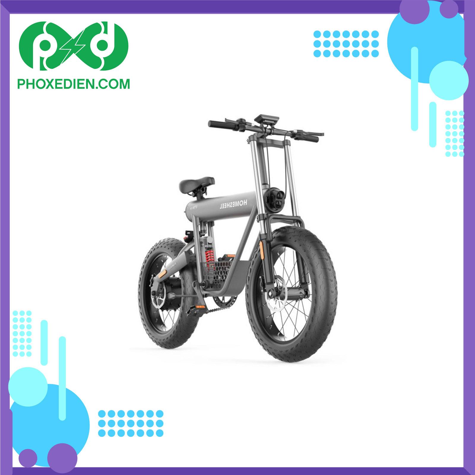 Xe đạp điện thể thao Homesheel FTN T20