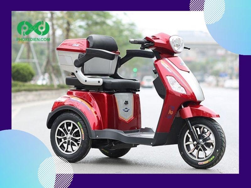 Xe điện 3 bánh có được lưu thông trên đường phố