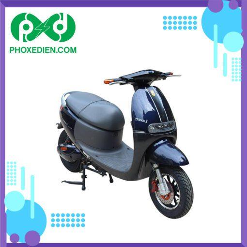 Xe máy điện DK BIKE LUXURY Xanh-Đen