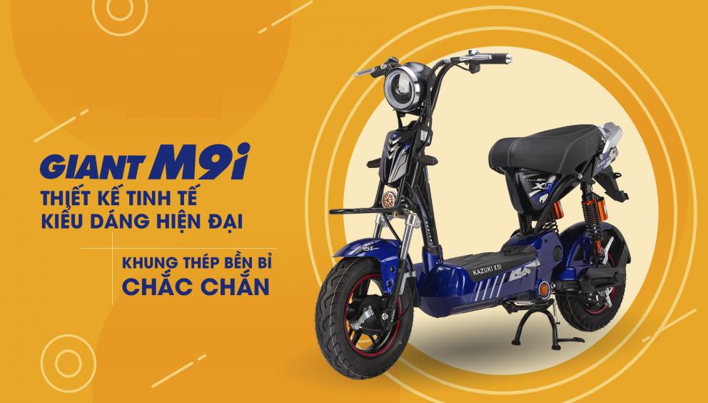 Xe máy điện dtp giant m9i thiết kế hiện đại