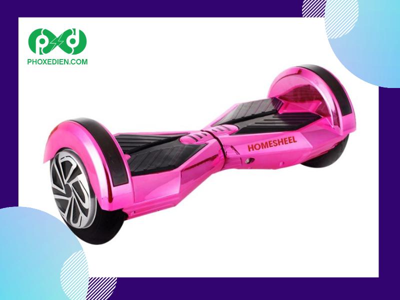 Dòng xe điện cân bằng homesheel X8 PLUS- ứng dụng công nghệ thông minh