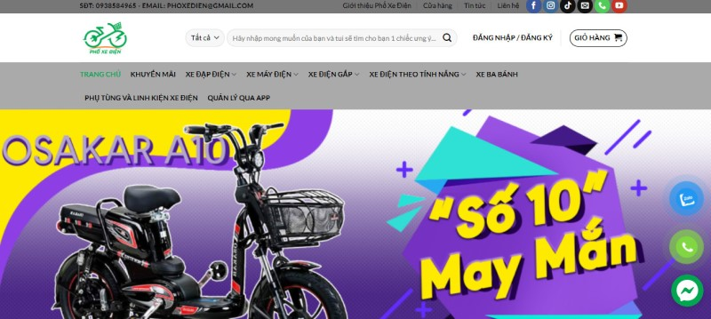Tìm mua xe máy điện Yadea ULIKE ở đâu