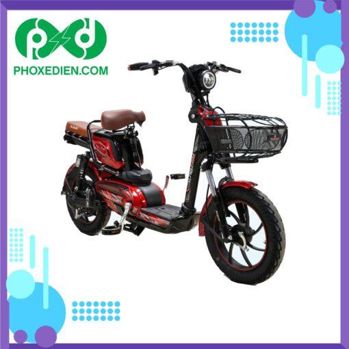 Xe đạp điện osakar win@ Đen-Đỏ
