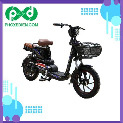 Xe đạp điện osakar win@ Đen-Xanh-Dương