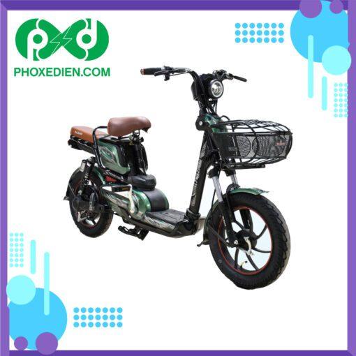 Xe đạp điện osakar win@ Đen-Xanh-Lá-Cây