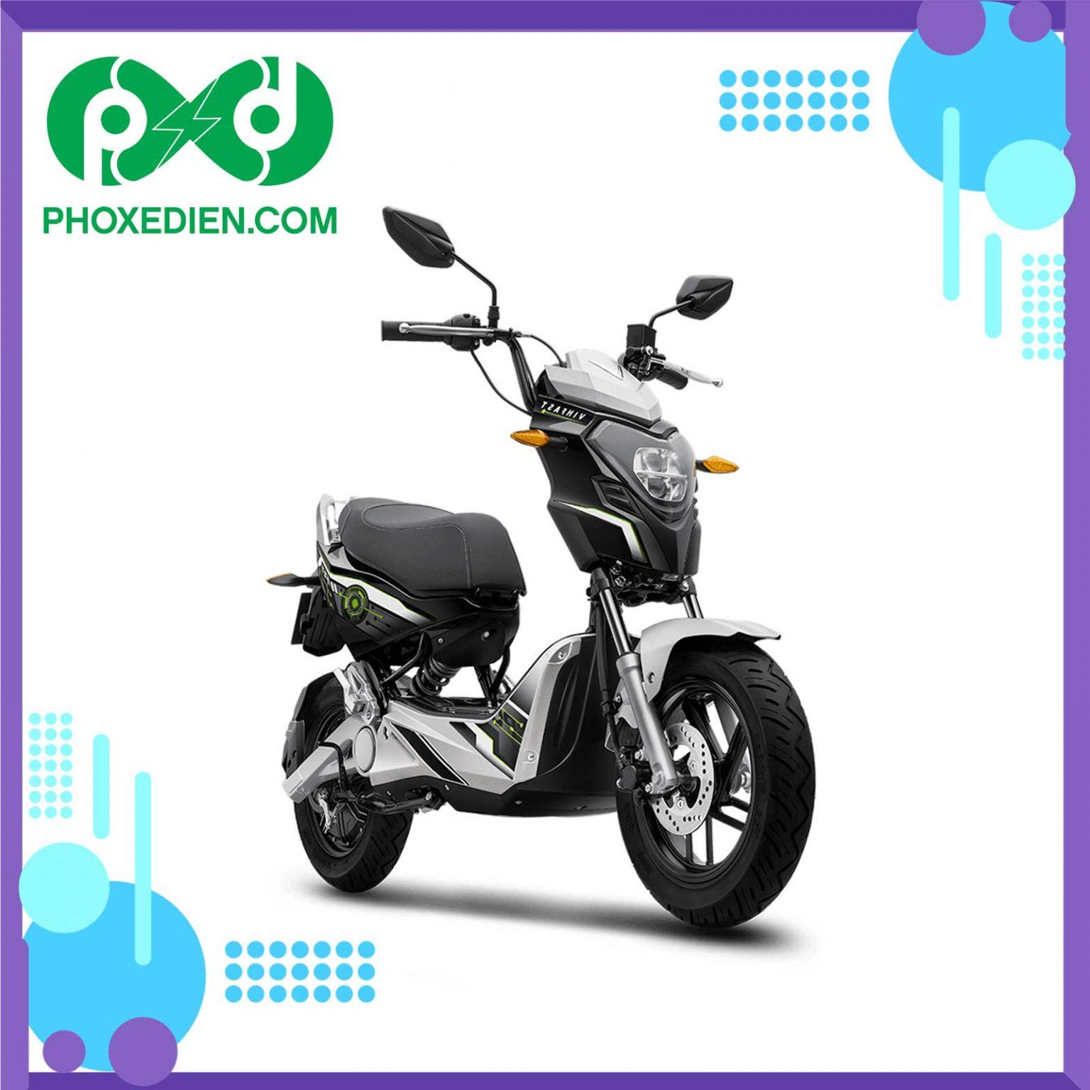 Xe máy điện VINFAST IMPES Màu-trắng