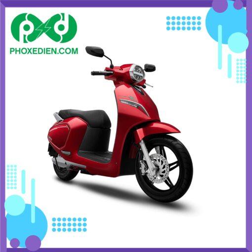 Xe máy điện VinFast Klara S Màu-đỏ-đậm