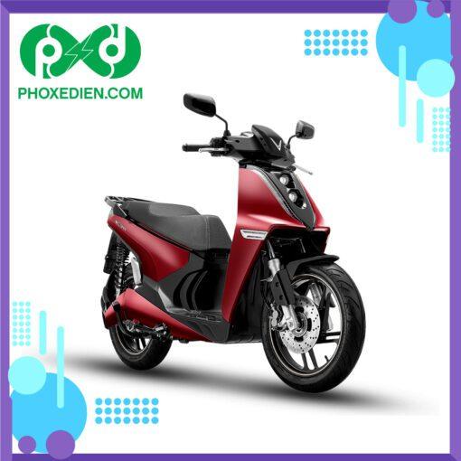 Xe máy điện VinFast Theon - màu đỏ
