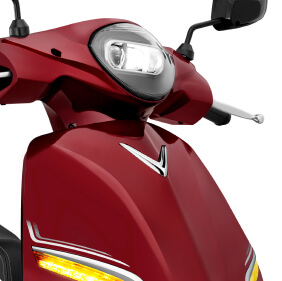 hệ thống đèn led xe máy điện feliz