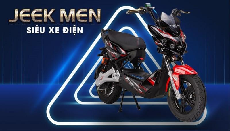 Thông số kỹ thuật xe máy điện DTP Xmen Jeek 2021