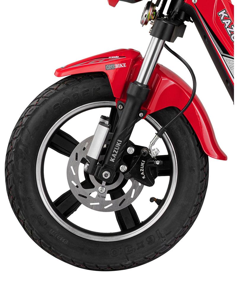 Bánh xe với vành đúc hợp kim - xe đạp điện DTP K3