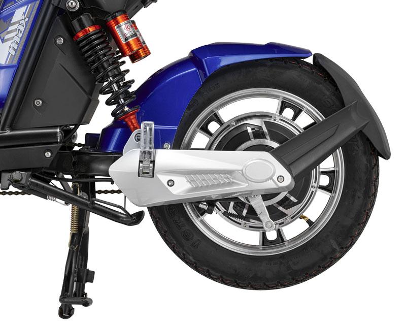 Động cơ xe đạp điện kazuki max được đặt ở tâm của bánh sau