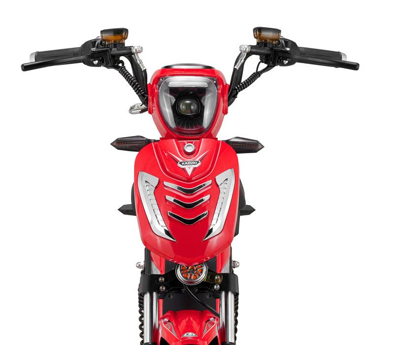 Hệ thống chiếu sáng đèn xe hiện đại - xe đạp điện DTP kazuki k3