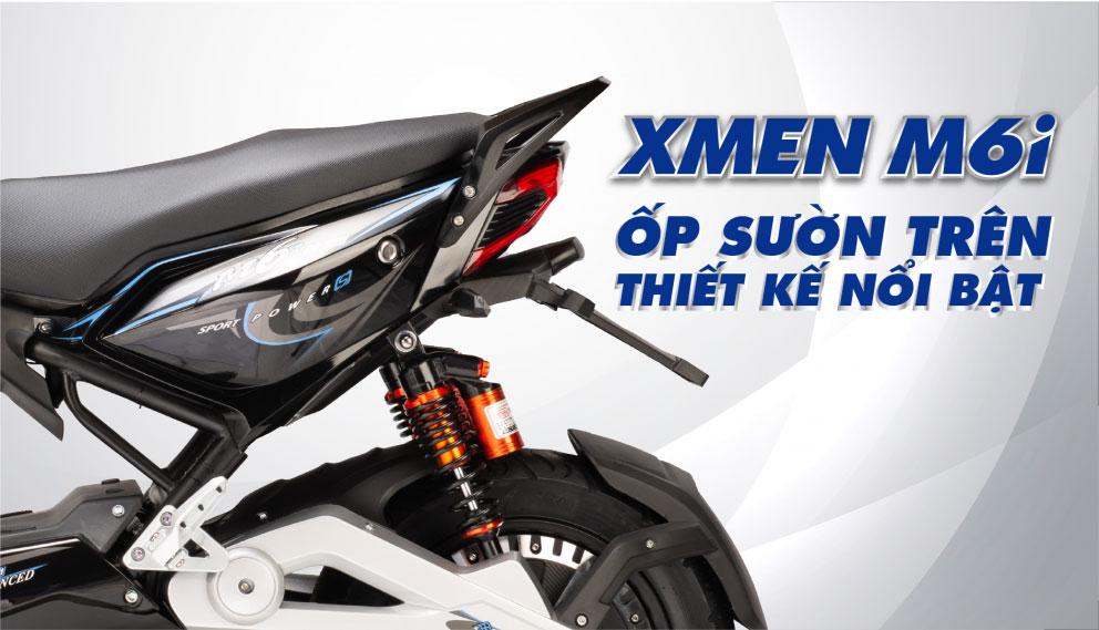 Ốp sườn xe máy điện Xmen M6i