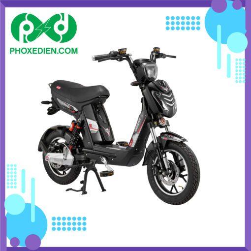Xe đạp điện KAZUKI K3 - Màu đen đỏ