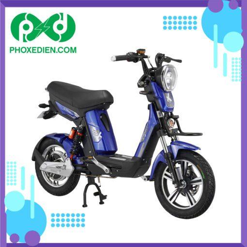 Xe đạp điện KAZUKI MAX - Màu Xanh Dương