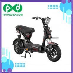 Xe đạp điện KAZUKI-X5I V1 - Màu đen đỏ
